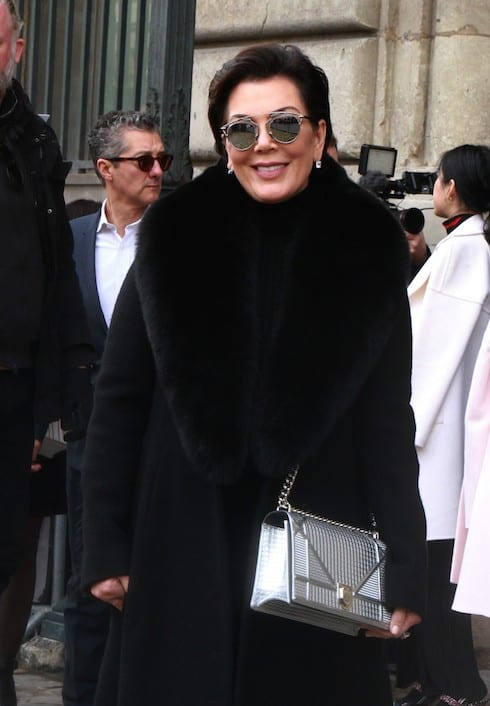 Paris Fashion Week Fall/Winter 2016/17 - Dior - Arrivals Featuring: Kris Jenner Where: Paris, France When: 04 Mar 2016 Credit: WENN.com **Not available for publication in France, Belgium, Spain, Italy**