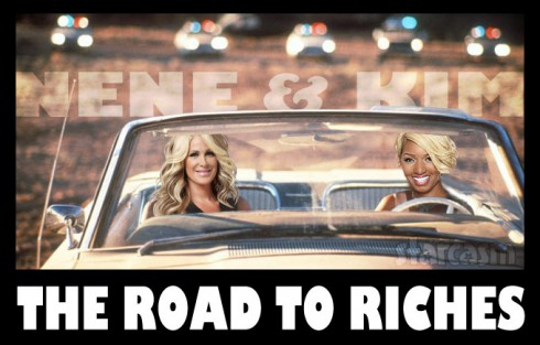 Thelma and Louise NeNe Leakes and Kim Zolciak Biermann Road To Riches
