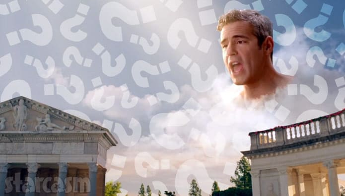 Andy Cohen question marks