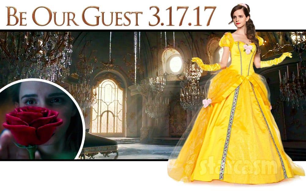 Beauty and the Beast Emma Watson Belle