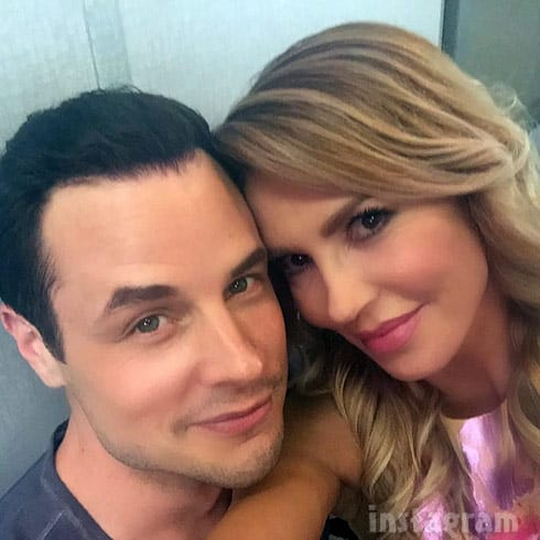 Brandi Glanville Dean Sheremet together