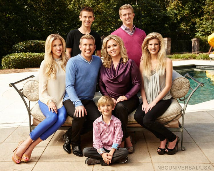 Chrisley Knows Best family photo