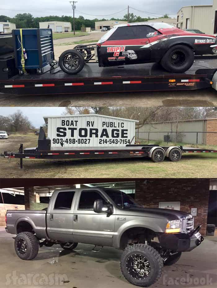 David Bird Jones Camaro stolen plus trailer and truck