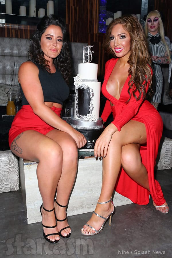 Jenelle Evans and Farrah Abraham birthday party Miami