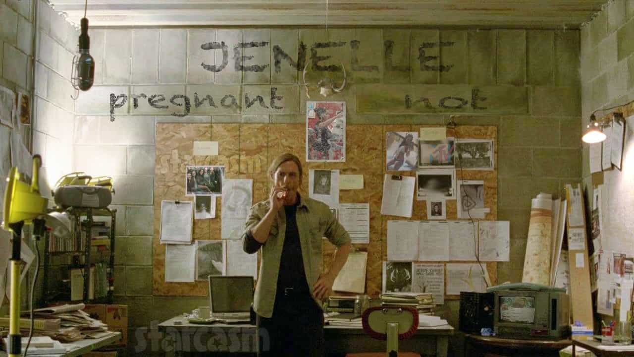 Jenelle Evans pregnant True Detective Rust Cohle