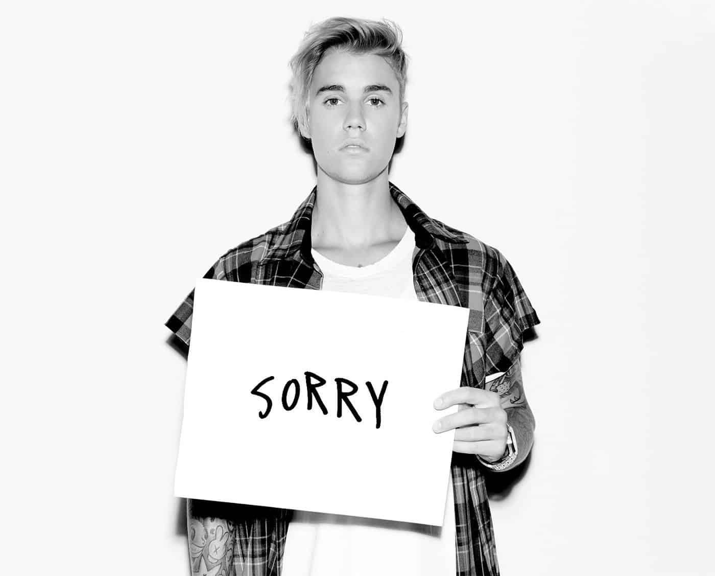 Did Justin Bieber steal the song Sorry from someone else?
