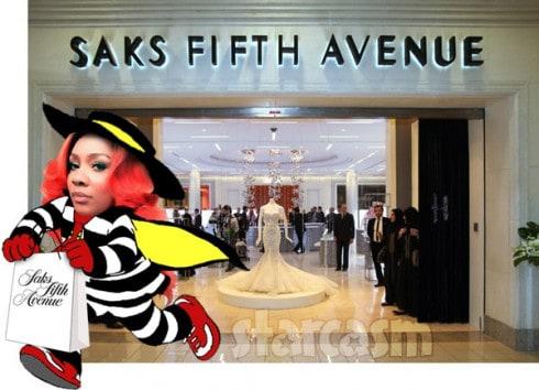 Karen King Saks Fifth Avenue arrest