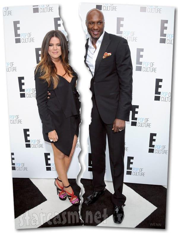Khloe and Lamar divorce