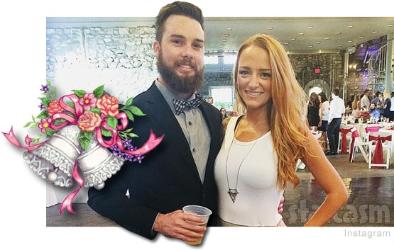 Maci Bookout Taylor McKinney wedding details