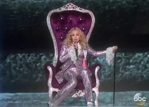 Madonna Prince tribute Billboard Music Awards