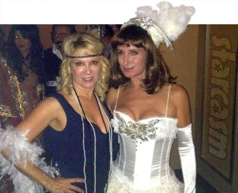 Ramona Singer Sonja Morgan Halloween throwback