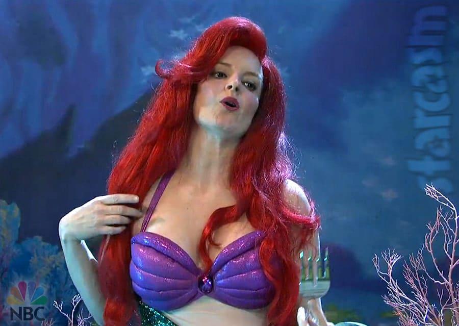 Tina Fey as The Little Mermaid Ariel SNL