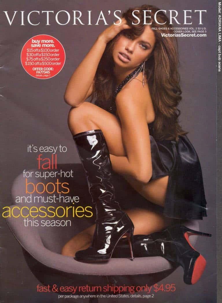 Victoria's Secret Catalog cover 2007