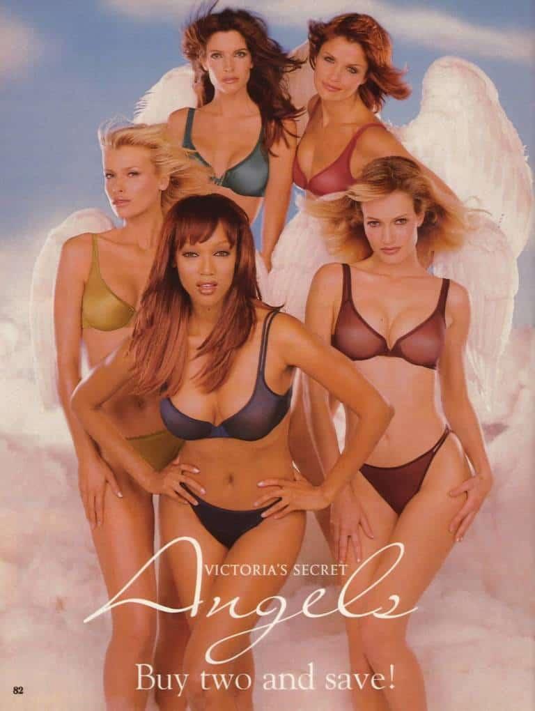 Victoria's Secret catalog Angels