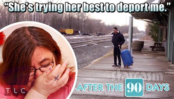 90 Day Fiance Mohamed deported