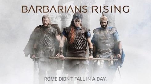 Barbarians Rising cast 1