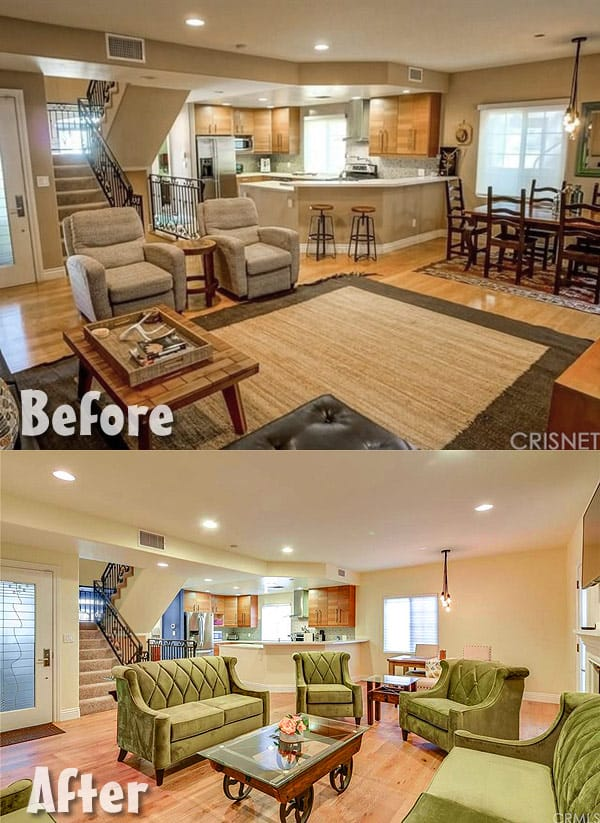 Farrah Abraham Hollywood home before and after