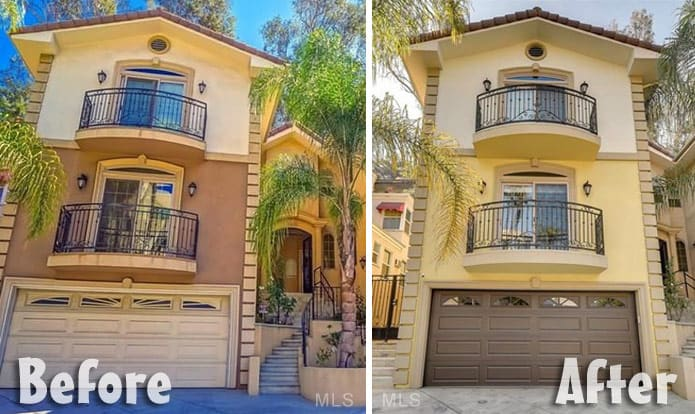 Farrah Abraham Los Angeles house