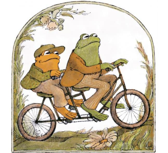 Frog and Toad bicycle