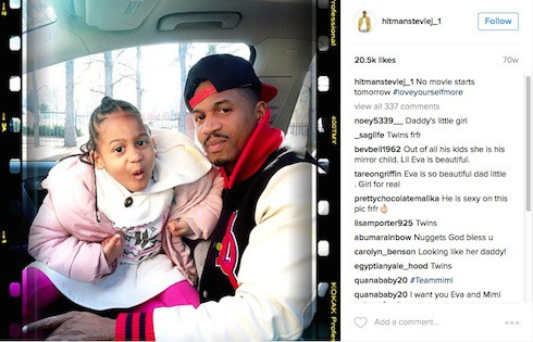 How many kids does Stevie J have 5