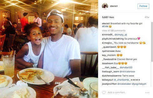 How many kids does Stevie J have 7