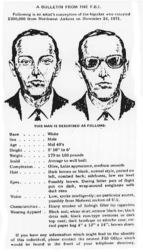 Is DB Cooper dead or alive 3