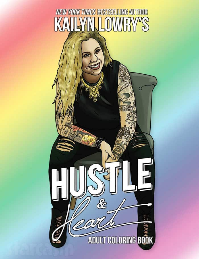 Kail Lowry Hustle and Heart adult coloring book