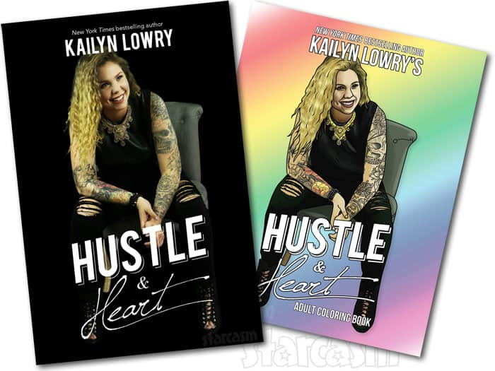 Kail Lowry Hustle and Heart book covers