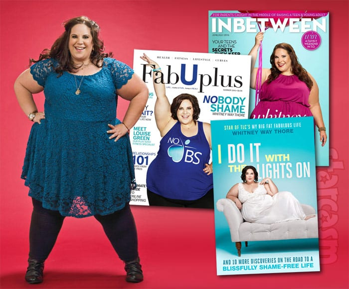 My Big Fat Fabulous Life Whitney Way Thore book magazine covers