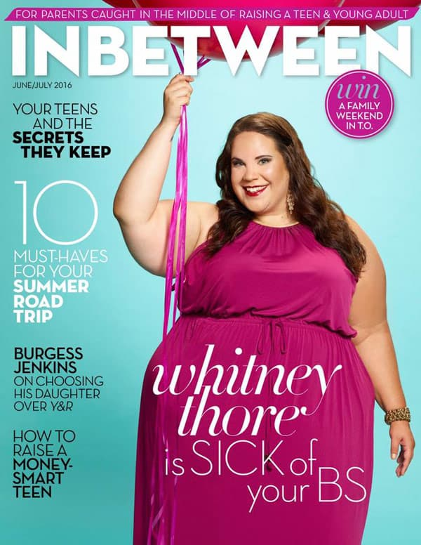 Whitney Way Thore In Between magazine cover