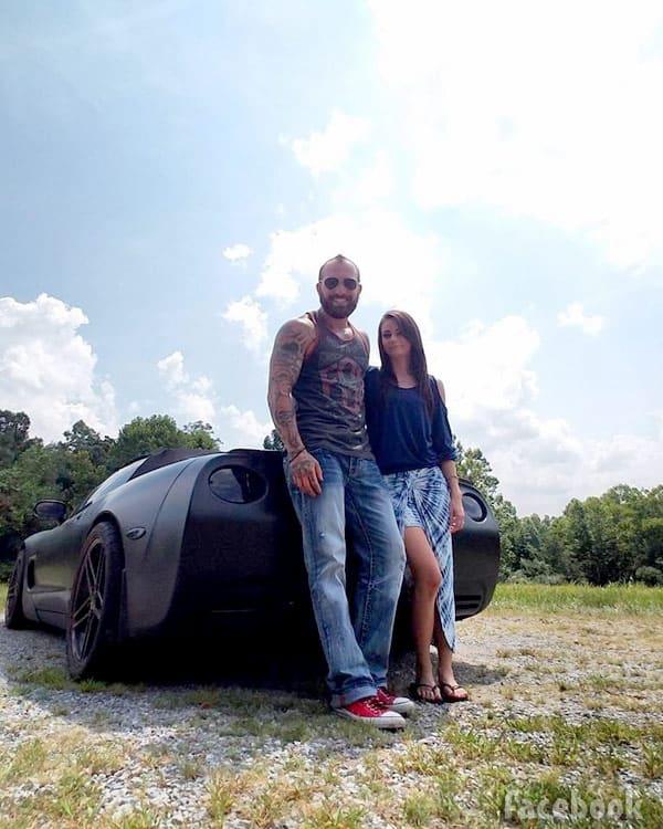 Adam Lind Stasia Huber Corvette road trip to Key West