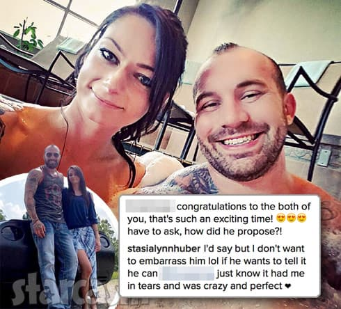 Teen Mom 2 Adam Lind and Stasia Huber engaged
