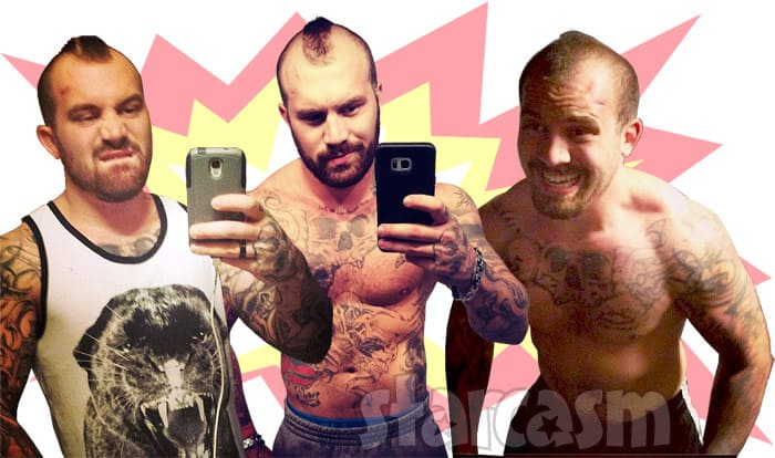 Teen Mom 2 Adam Lind angry photos