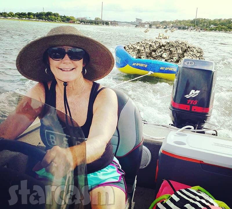 Barbara Babs Evans boat full of MTV money