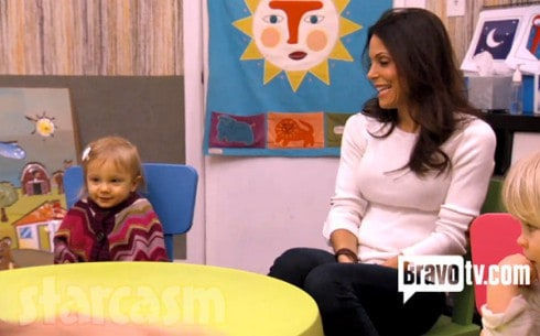 Bethenny with daughter Bryn on Bravo TV show Bethenny Ever After