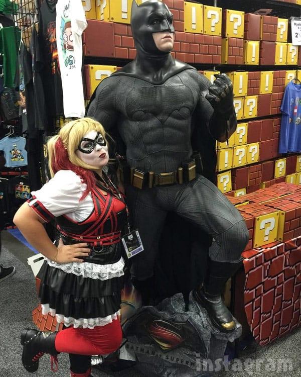 Catelynn Baltierra Harley Quinn costume