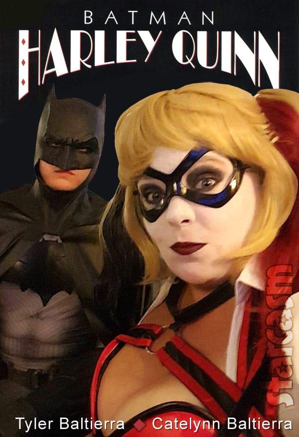 Catelynn and Tyler Baltierra as Batman and Harley Quinn