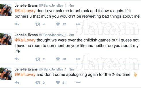 Jenelle Evans pregnancy Kail Lowry deleted tweets