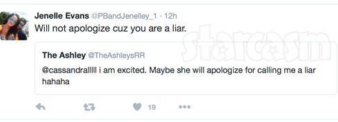 Jenelle Evans The Ashley tweet