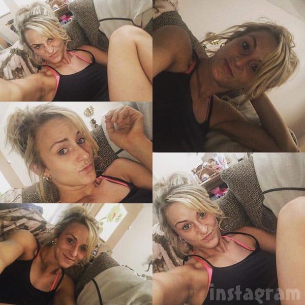 Leah Messer funny faces photos