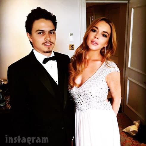 Lindsay Lohan Egor Tarabsov together
