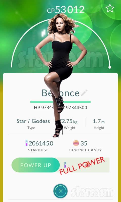 Pokemon Go Beyonce concert