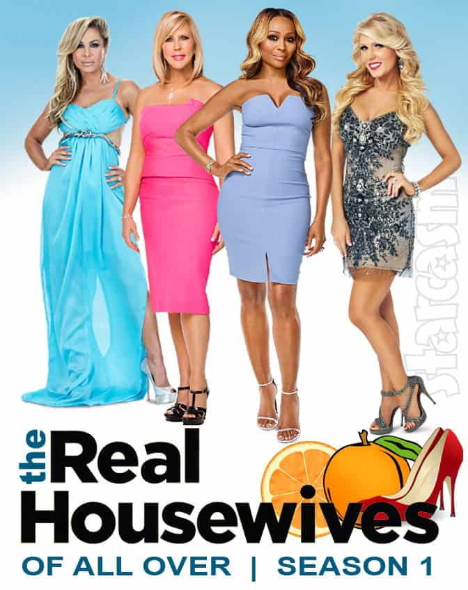RHOAO Real Housewives of All Over with Adrienne Maloof Vicki Gunvalson Cynthia Bailey and Gretchen Rossi