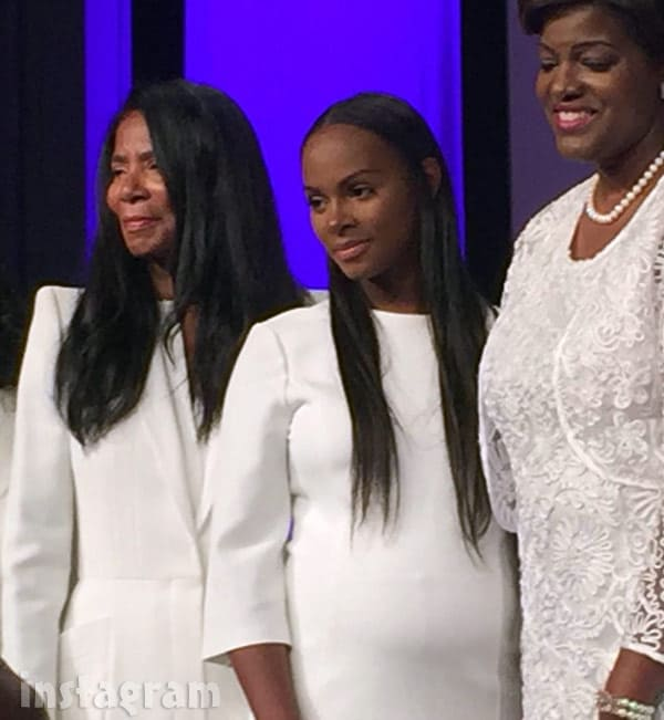 Tika Sumpter pregnant proof