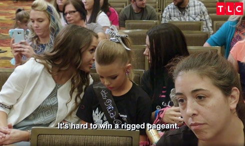 Toddlers and Tiaras rigged fake pageant