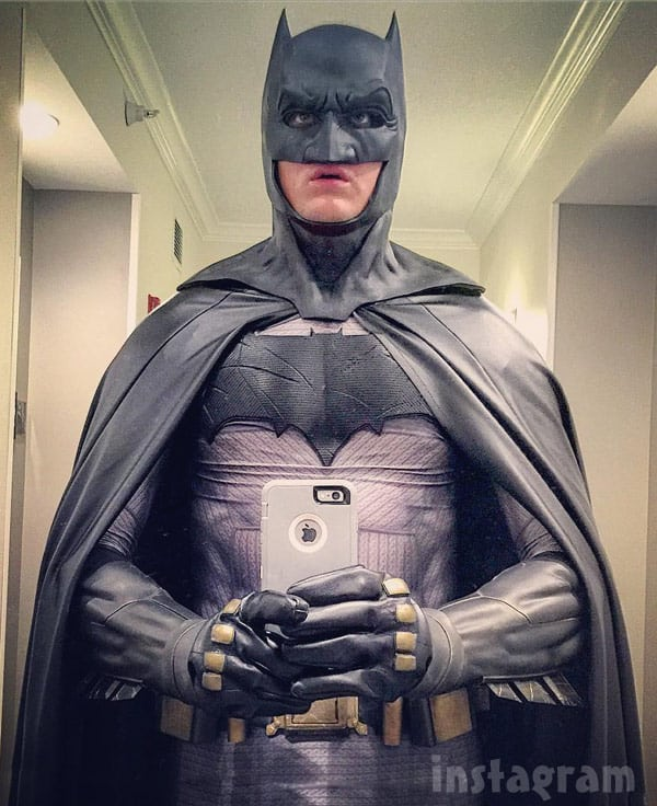 Tyler Baltierra Batman costume