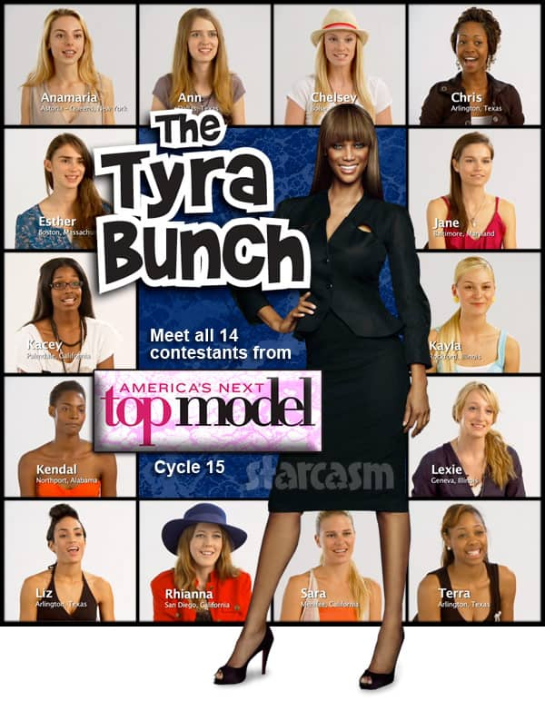 Tyra Banks America's Next Top Model Cycle 15
