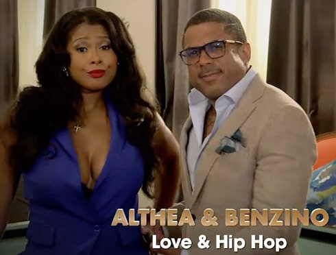 Althea Heart and Benzino Love and Hip Hop
