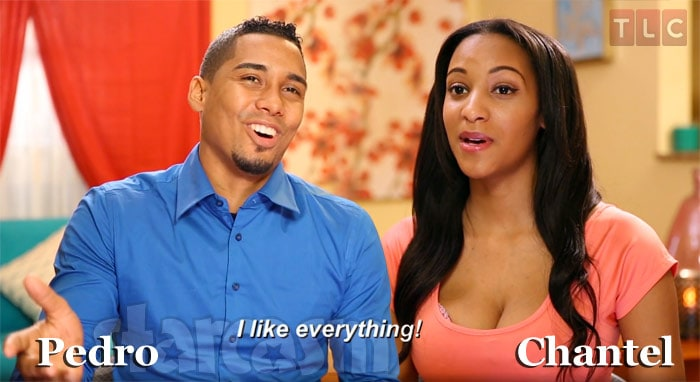 90 Day Fiance Chantel and Pedro from Domincan Republic