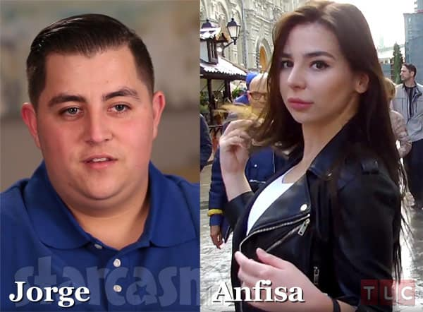 90 Day Fiance Sugar daddy Jorge and Anfisa from Moscow Russia